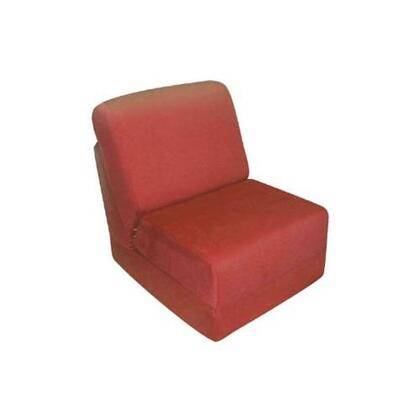 50232P Teen Chair Red Micro
