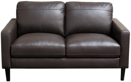Click here for Omega OMEGALODC 58 Full Leather Loveseat with Loos... prices