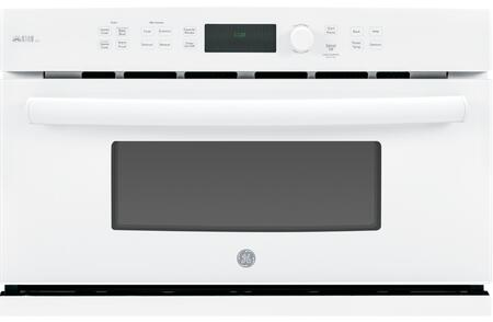 GE Profile Series Advantium 120V 1.7 Cu. Ft. Built-In Microwave White-on-White PSB9120DFWW