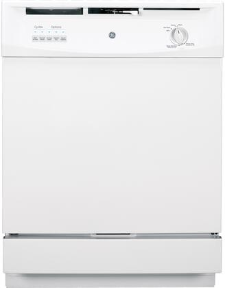 "GE 24"" Built-In Dishwasher White GSD3300KWW"