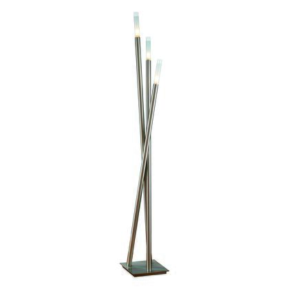 LSH-ICICLE FLR Icicle Contemporary Floor Lamp in Brushed