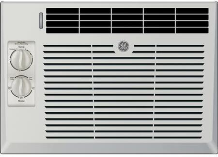 "AEV05LX 17"""" Window Air Conditioner with 5000 Cooling BTU  2 Fan Speed  EZ Mount  Fixed Chassis  Mechanical Thermostat  in Light Cool"" 883333"
