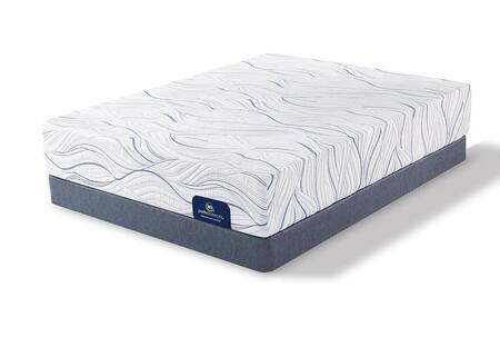 Cedarhurst 500080978-TWMFLP Set with Plush Twin Mattress + Low Profile