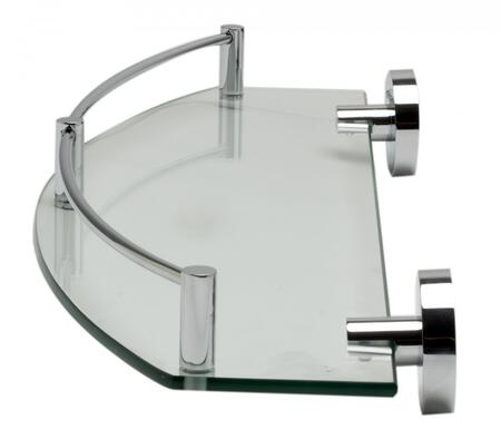Click here for AB9547 Polished Chrome Wall Mounted Glass Shower S... prices