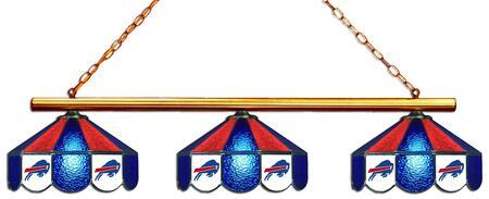 18-1121 Buffalo Bills Glass 3 Shade Lamp