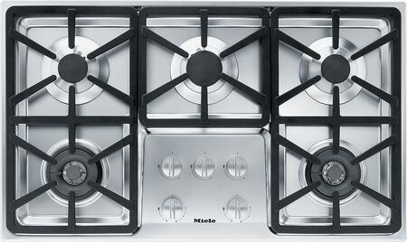Miele KM3474GSS 36 Stainless Steel Gas Cooktop