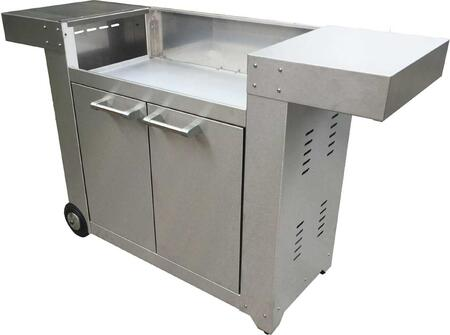 GFCART Freestanding Griddle Cart  in Stainless