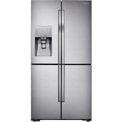 """RF23J9011SR 36"""" Counter Depth 4-Door Flex French Door Refrigerator with Cool Select Plus  23 cu. ft. Total Capacity  Triple Cooling System in Stainless"""