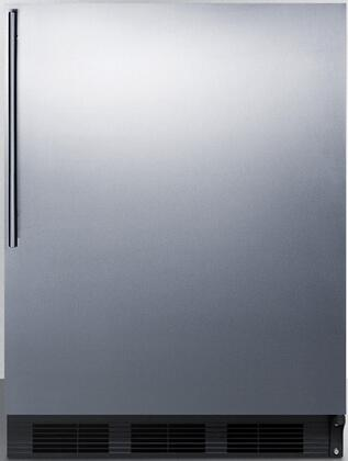 CT66BSSHVADA 24 inch  CT66JADA Series ADA Compliant  Medical Compact Refrigerator with 5.1 cu. ft. Capacity  Dual Evaporator  Zero Degree Freezer Compartment  Cycle