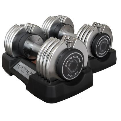 BF-0250 Bayou Fitness 50 lbs. Adjustable Dumbbells