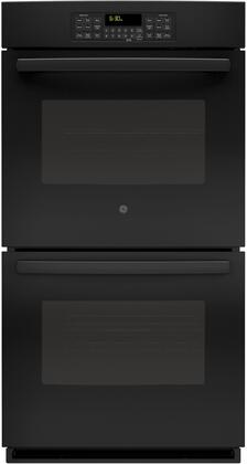 """GE 27"""" Built-In Double Electric Wall Oven Black JK3500DFBB"""