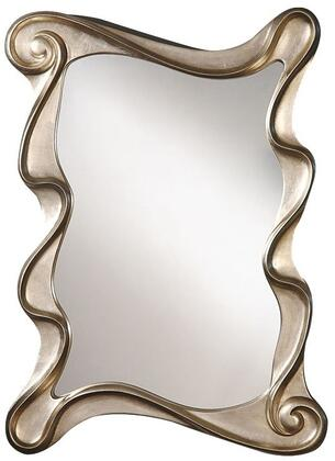 Arla Collection 97094 26 inch  x 35 inch  Accent Mirror in Champagne