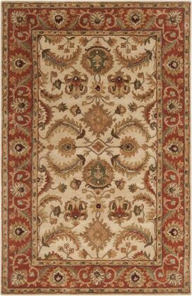A160-58 5 X 8 Rectangular Ancient Treasures Ink Handmade Area Rug Made With 100% Semi-worsted New Zealand Wool And Made In