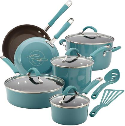 16344 12-Piece Cookware Set  Agave