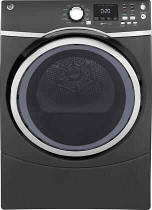 GE GFD45ESPMDG Diamond Grey 7.5 Cu. Ft. Front Load Steam Electric Dryer