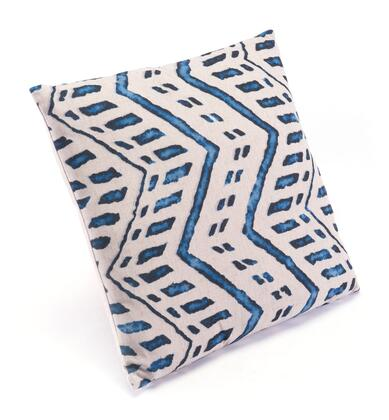 A11109 Ikat Pillow 2 Blue &