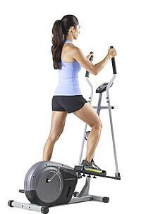 Ellipticals  Weslo Momentum G 3.4 with Water Bottle Holder  LCD Display  Two Programs  and Weight Capacity of 250