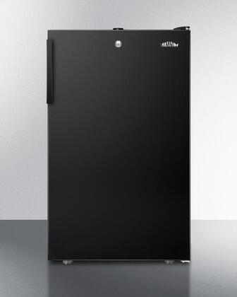 FF521BLBI7 20 inch  Commercially Listed Built-in Undercounter All-refrigerator with 4.1 cu.ft. Capacity  Auto Defrost  Door Lock and Adjustable Thermostat: Black