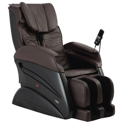 TW-Chiro BROWN Massage Chair with 3D Body Scanning  S-Track Massage  Waist Compression  16 Auto Programs  Whole Body Stretching and Design for All Body Types