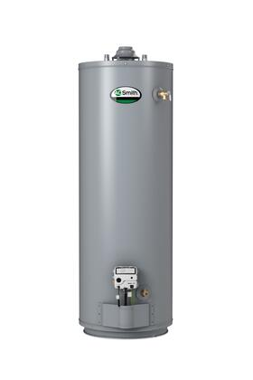 SMIGCRT-50 Residential Gas Water Heater with 50 Gallon Capacity  Intelligent Control Logic and Green Choice 50 000 BTU Gas