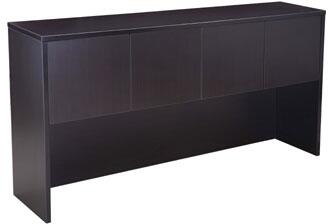 """N144-MOC 71"""" Four Door Hutch with 3mm Edge Banding in"""