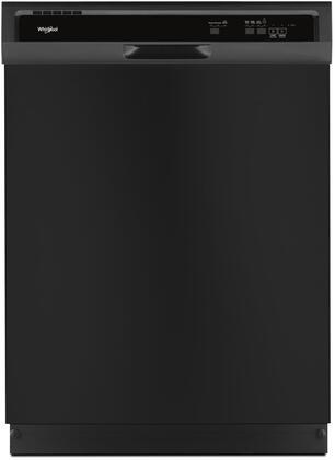 "Whirlpool 24"" Built-In Dishwasher Black WDF330PAHB"