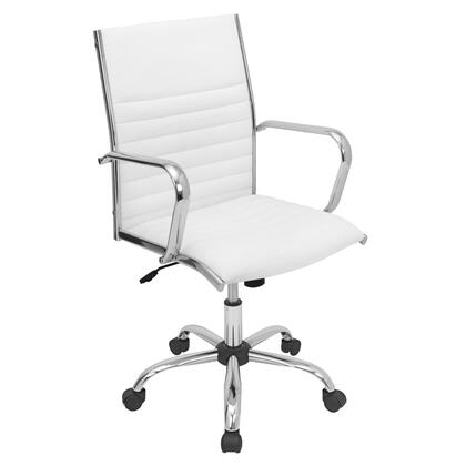 OFC-AC-MSTR W Master Height Adjustable Office Chair with Swivel in