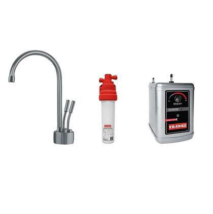 LB7280C-100-HT Faucet Set with LB7280C Hot & Cold Filtered Water Dispenser  FRCNSTR100 Filter Canister and HT300 Little Butler Heating