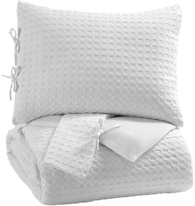 Maurilio Q781003K 3-Piece King Comforter Set with Comforter and 2 Sham in