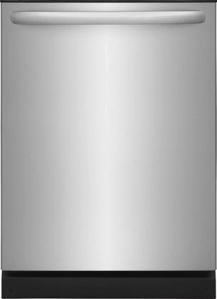 Frigidaire FFID2426TS 24 Built In Fully Integrated Dishwasher with 4 Wash Cycles, in Stainless Steel