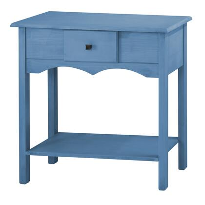 "Jay 1.0 Collection CS50201 36"" Tall Sideboard with 1 Full Extension Drawer and Lifted Base in Blue"