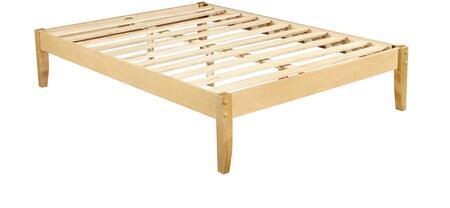 4529829-T Solid Wood Platform Bed