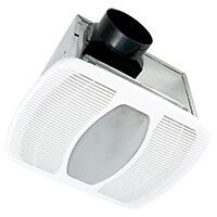 LEDAK100D Exhaust Fan with 100/50 CFM  LED Light  Energy Star Certified  4