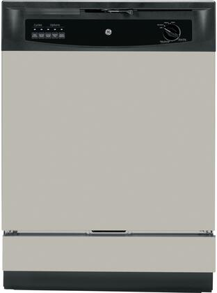 "GE 24"" Built-In Dishwasher Silver GSD3340KSA"
