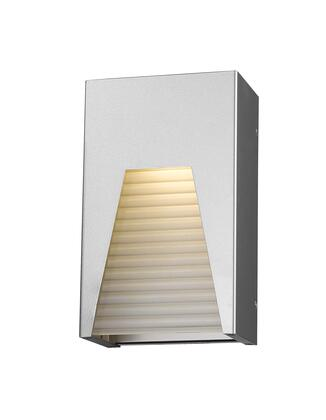 Millenial 561S-SL-SL-FRB-LED 6 1 Light Outdoor Wall Light Contemporary  Metropolitan  Modernhave Aluminum Frame with Silver finish in Frosted