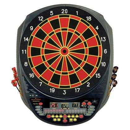 E520H Inter-Active 6000 Regulation 15.5 inch  Target Area Dartboard with Six Soft-Tip Darts and Extra Tips  AC Adapter  Mounting Hardware  Game Instructions  and