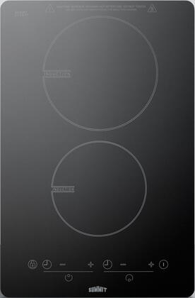 Summit SINC2B120 14 in. 120V Electric Smoothtop Cooktop, Black