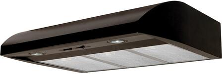 AB36BL 36 inch  Under Cabinet Range Hood with 250 CFM  Lighting  in