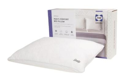 Sealy Conform Collection F01-00435-ST2/PAK4 Pack of 4 Standard Size Multi-Comfort Pillow with Premium Memory Foam  Breathable Design and Removable Washable