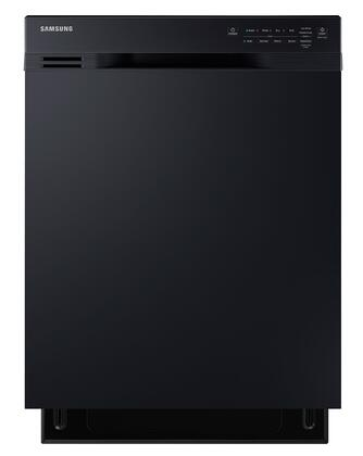 """Samsung 24"""" Front Control Built-In Dishwasher with Stainless Steel Tub Black DW80J3020UB"""