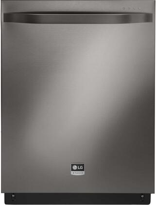 """LSDF9969BD 24"""""""" Built-In Dishwasher with 14 Place Settings  Fully Integrated Controls  TrueSteam Technology  3-Stage Filtration System  EasyRack Plus  42 dBA"""" 710462"""