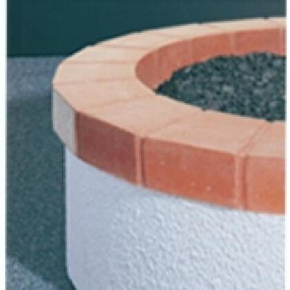 OCR-27-RB Red Concrete Top Ring for 27 Inch Fyre Pit