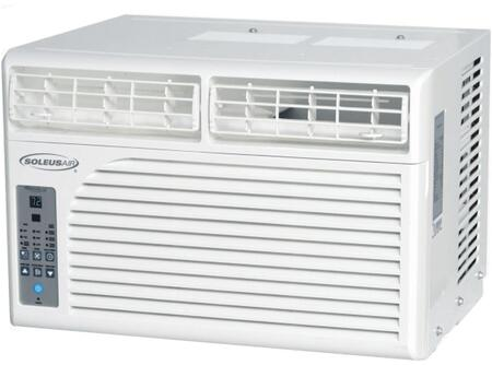 WS106E01 Windowed Air Conditioner with 6400 BTU Cooling Power  Programmable Timer  Washable Filter  Adjustable Airflow  and Child Lock  in
