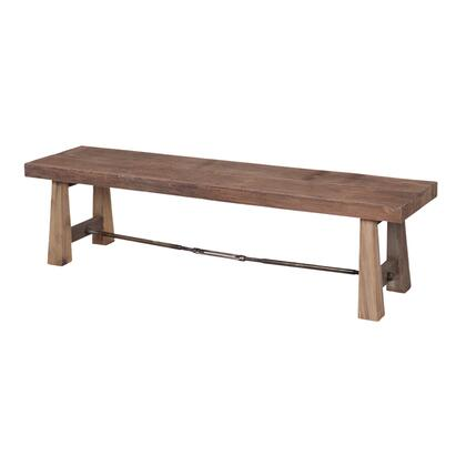 654001-B Reclaimed Wood Bench