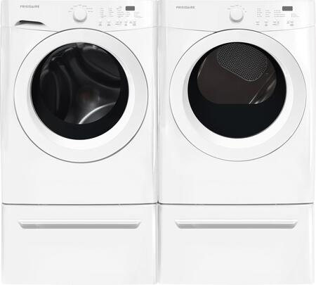 White Front Load Laundry Pair with FFFW5000QW 27