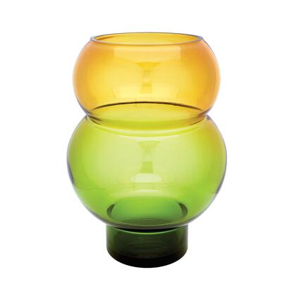 464077 Field Bubble Vase in Green and