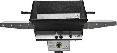 T40NG T- Series Aluminum Commercial Grill Head for Natural Gas with Built In 1 Hour Gas Timer  40 000 BTU  Stainless Steel Cooking Grids  Heavy Duty Cast