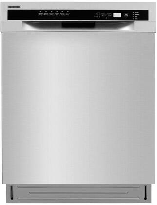 Lycan 24 Semi-built in Style Fully Integrated Design Dishwasher Stainless Steel LDW2401SS
