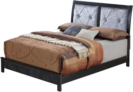 Carly Collection G4250A-FB Full Size Bed with Padded Headboard and Unique Finish in