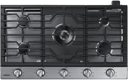 Samsung NA36N6555TS 36 Stainless Steel Gas Cooktop